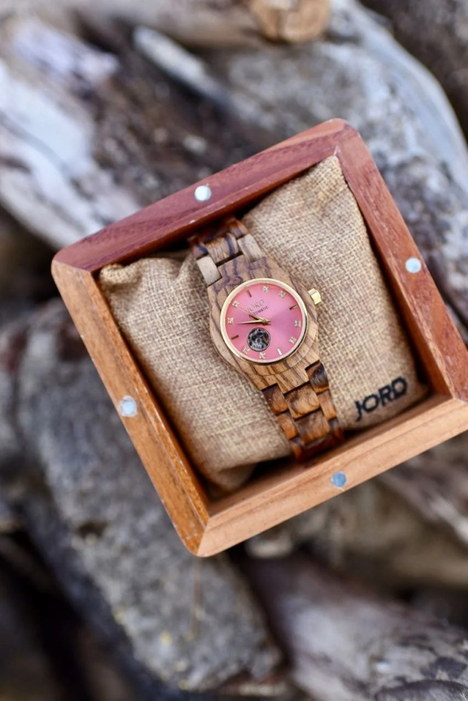 Jord wood watch unique Christmas gift idea