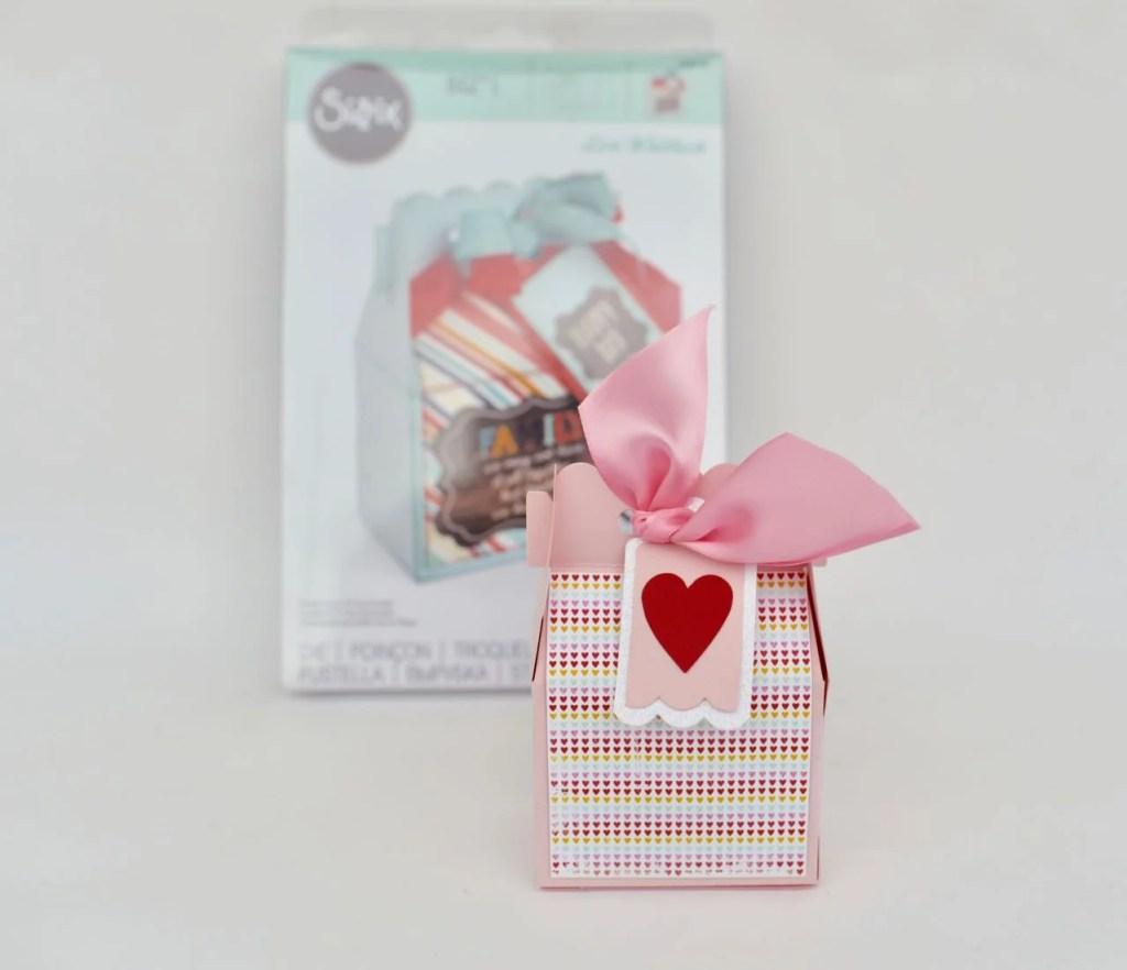 Valentine box craft with Lori Whitlock Sizzix die