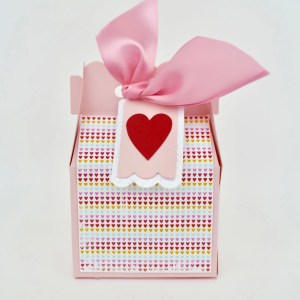 Valentine Candy Box Craft
