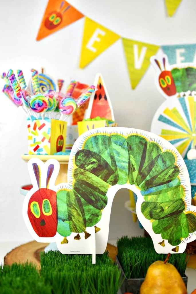 The Very Hungry Caterpillar party preschool party. Lots of cute ideas for a kids party!