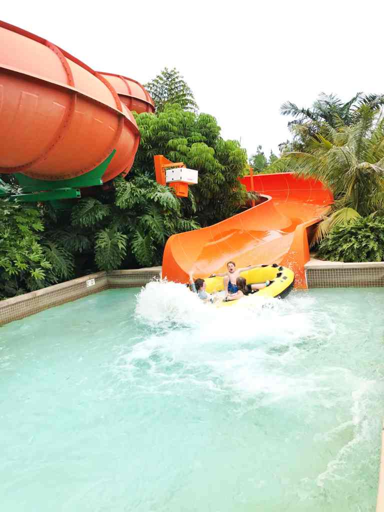 Water slide at LEGOLAND Water Park in California