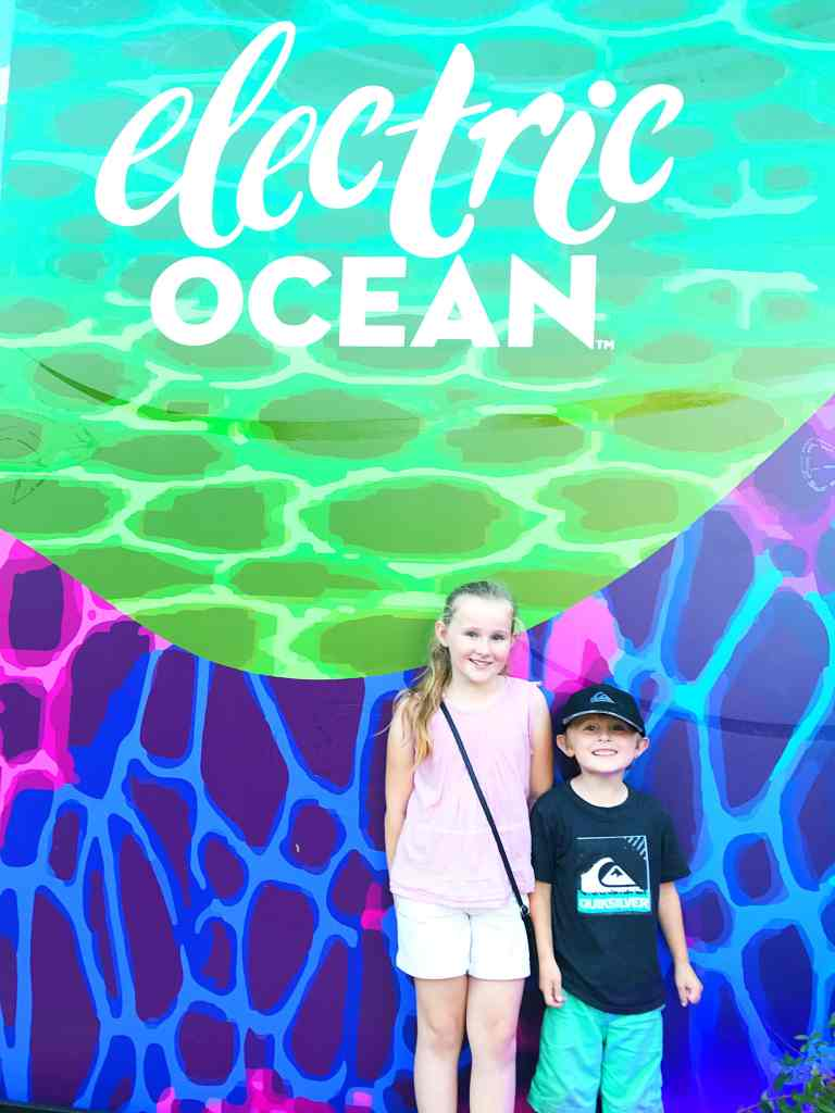 Electric Ocean SeaWorld San Diego