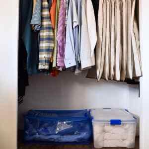 Small Closet Organization Trick