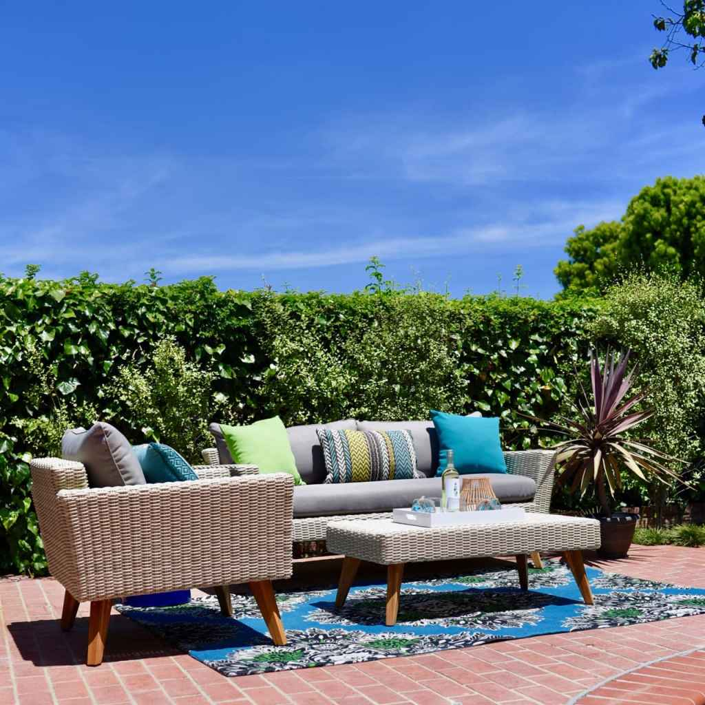 Lance Bass home outdoor makeover Los Angeles CA