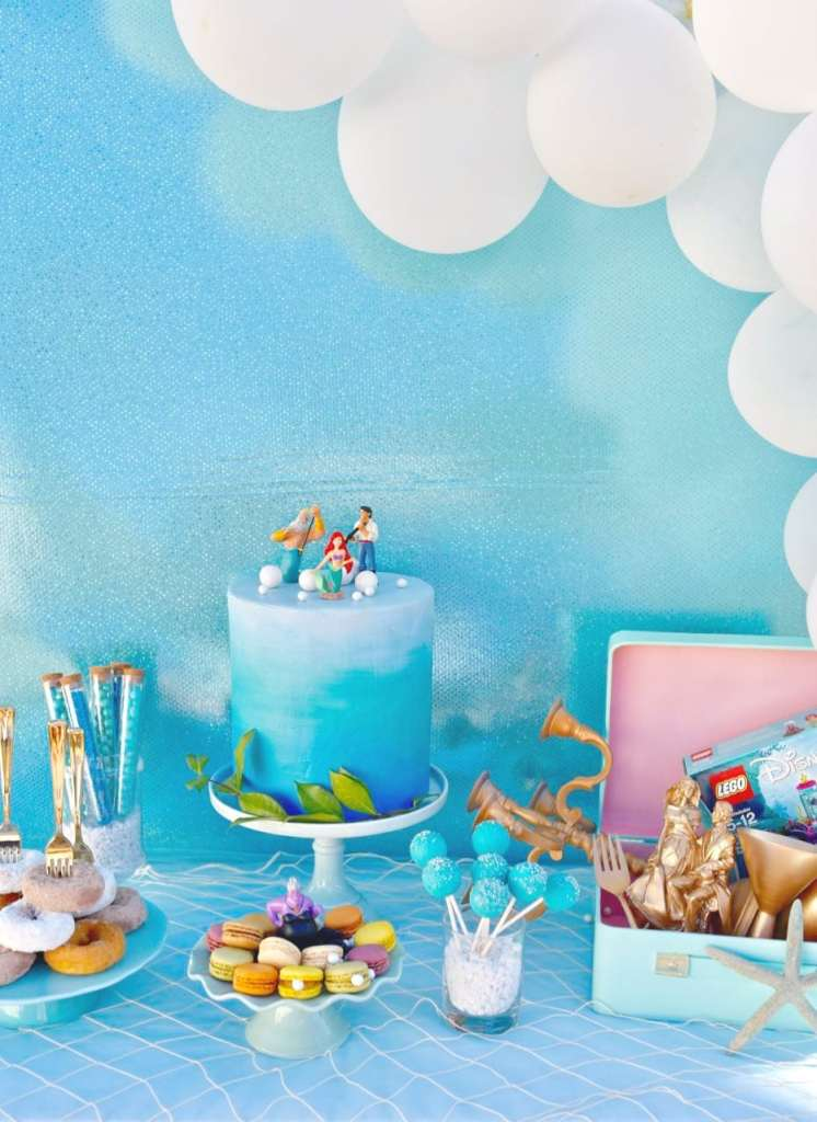 The Little Mermaid party ideas under the sea