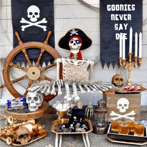 Goonies Halloween Party and Cricut Maker + Oriental Trading Gift Card Giveaway!