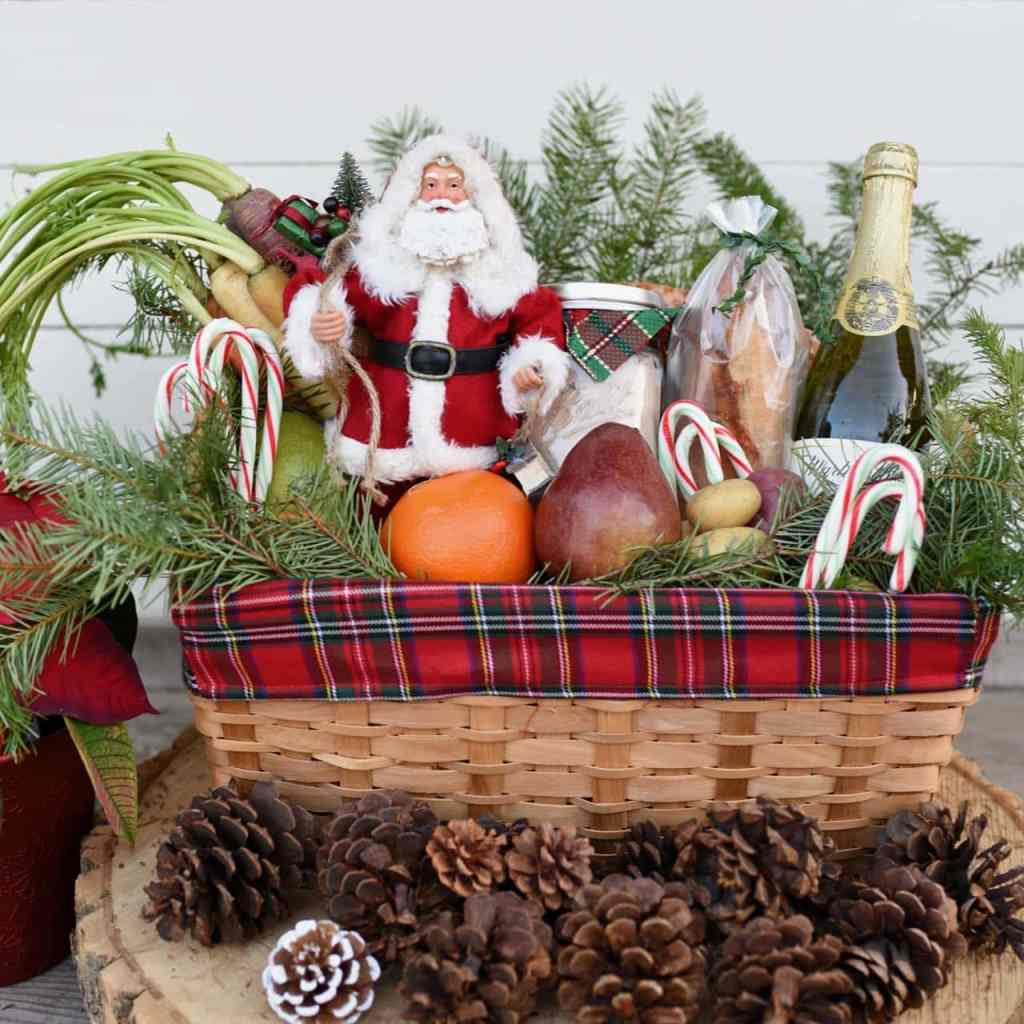 Christmas gift baskets square