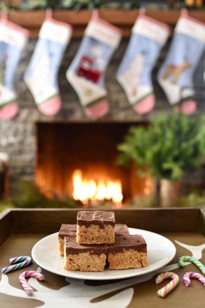 Special K bars Christmas dessert recipe