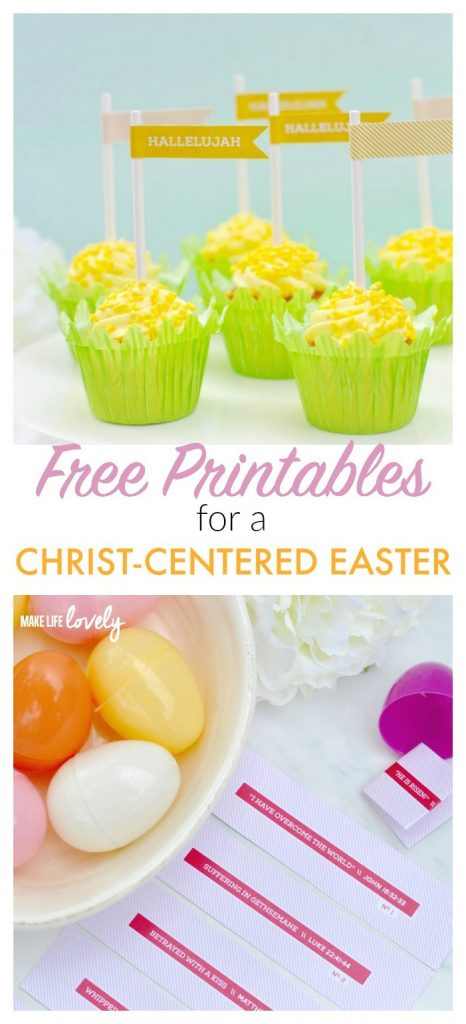 Free Printables for a Christ Centered Easter