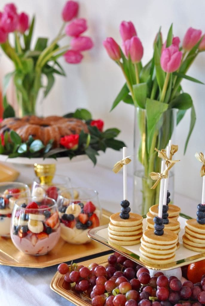 Spring brunch party ideas