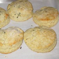 Rosemary - Parmesan Scone