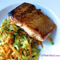 Salmon and Zucchini