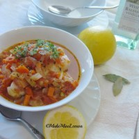 Cod and Shrimp Stoup