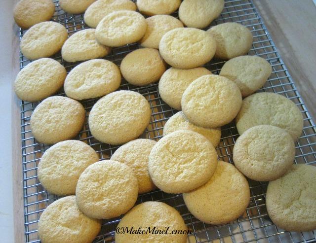 MakeMineLemon - Lots of Powder Puff Cookies
