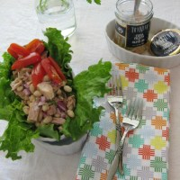 Tuscan Tuna and Bean Salad
