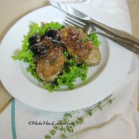 Pork Medallions Sauté with Figs
