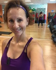 Spartacus workout complete Love my new Athleta top and howhellip
