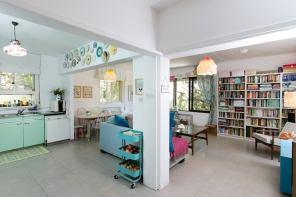 עיצוב דירה שכורה- משפחה צעירה במושב