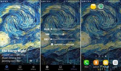 6 Wallpaper Changer Apps to Make Your Android Phone Pop - Make Tech Easier