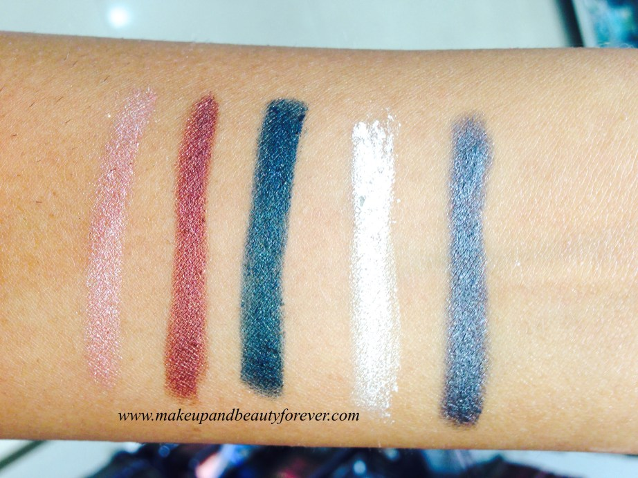 Lakme Absolute Drama Stylist Eye Shadow Crayon Review, Shades, Swatches, Price and Details India
