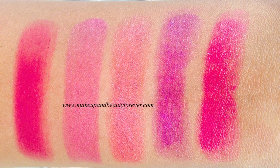 Maybelline The Jewels Color Sensational Lipstick Berry Brilliant 996 Rose Quartz 1432 Amethyst Ablaze 591 Pink Tourmaline 1433 Fuchsia Crystal 994