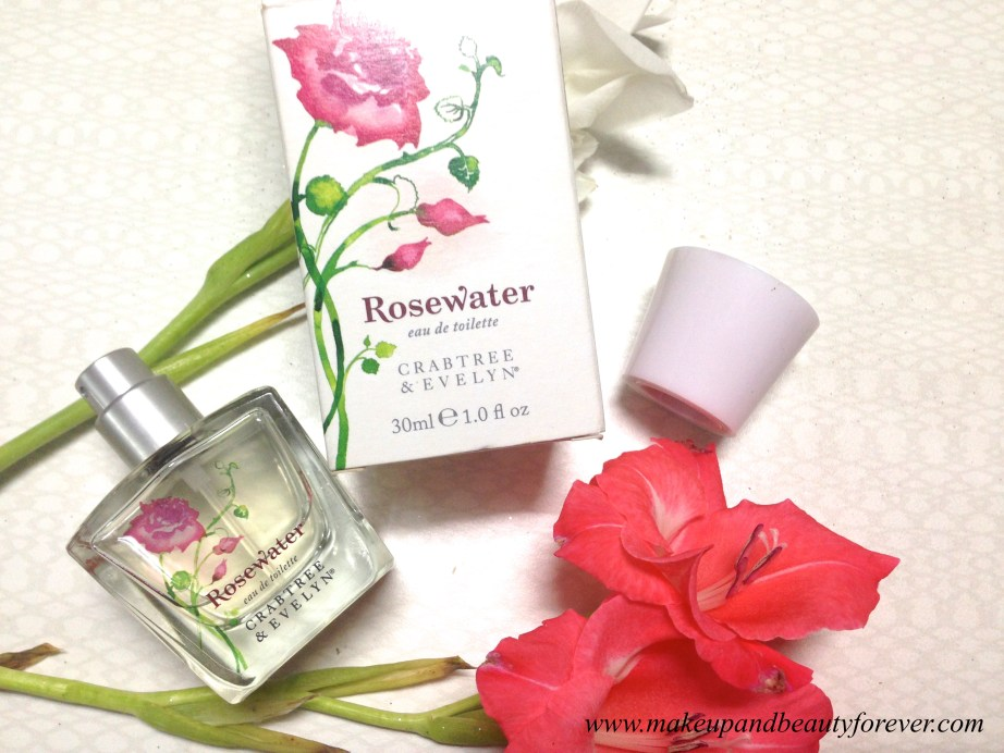 Crabtree & Evelyn Rosewater Eau de Toilette Perfume Review India