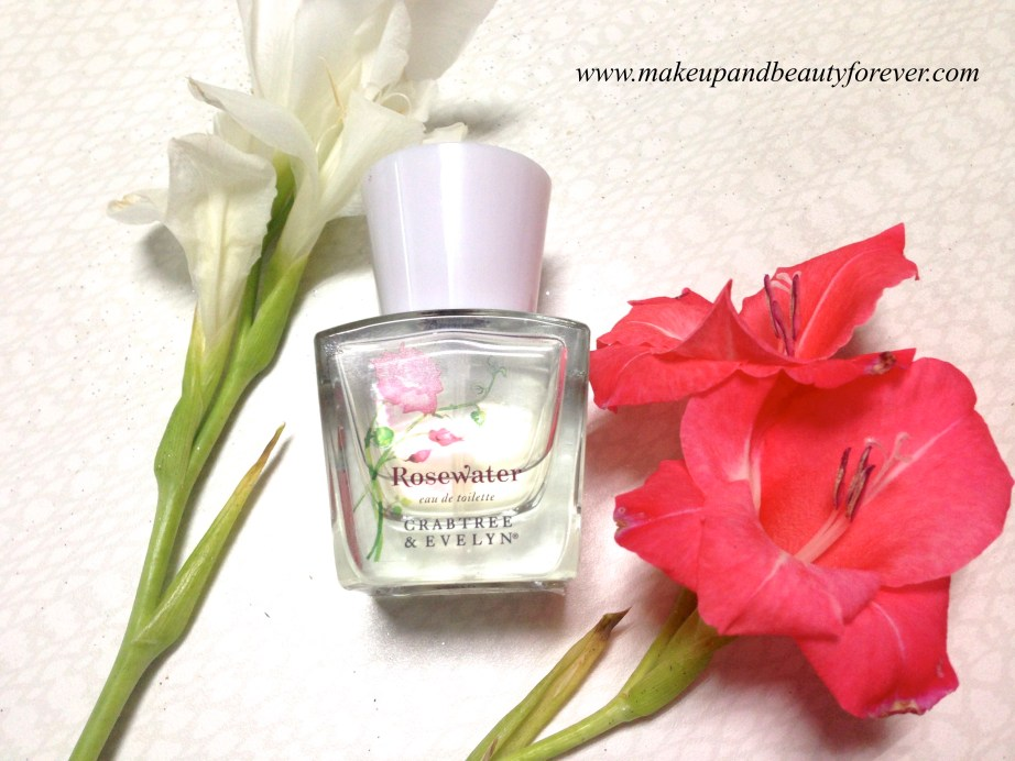 Crabtree & Evelyn Rosewater Eau de Toilette Perfume Review MBF