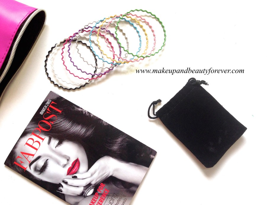 Fab Bag March 2015 India MBF