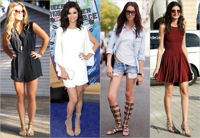 Gladiator heels shoes style india