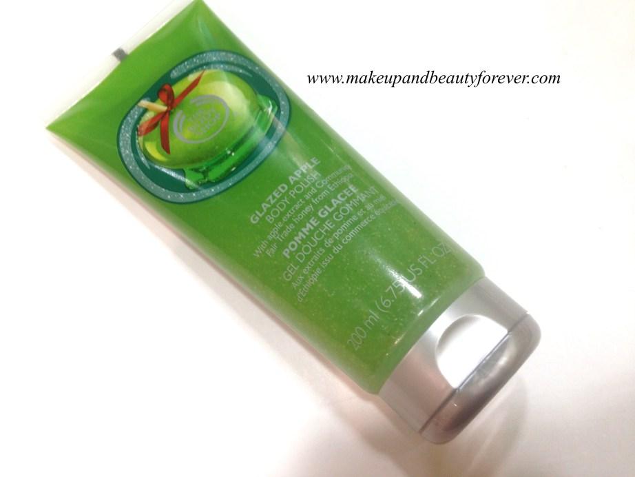 The Body Shop Glazed Apple Body Polish Review