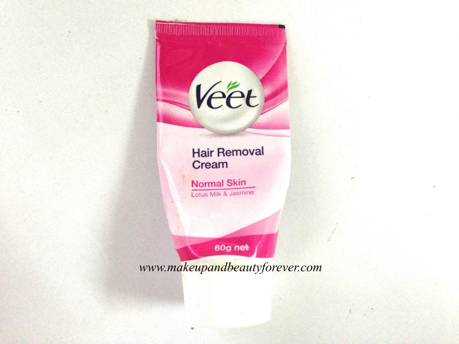 Veet Hair Removal Cream with Lotus Milk and Jasmine for Normal Skin Review