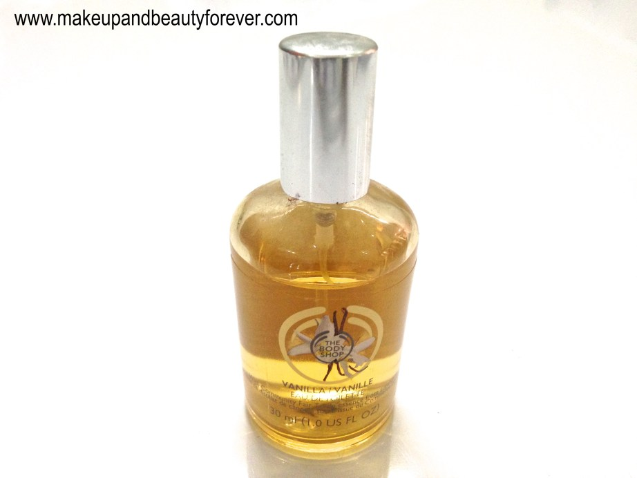 The Body Shop Vanilla Eau de Toilette Review