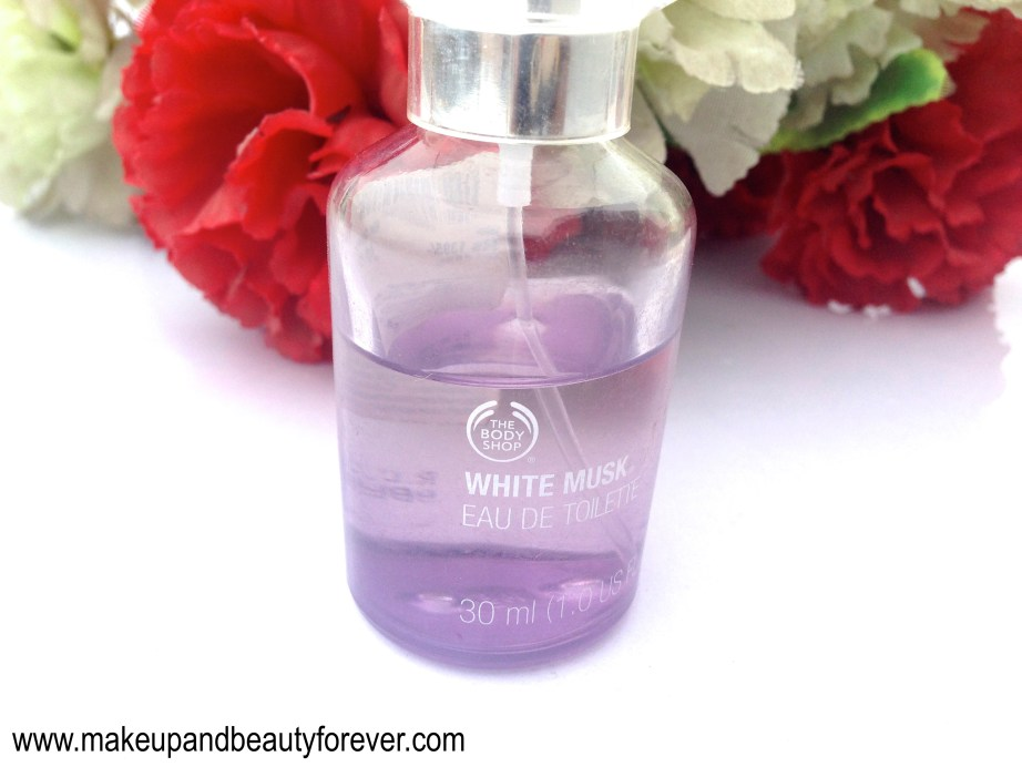 The Body Shop White Musk Eau De Toilette Review Astha MBF India