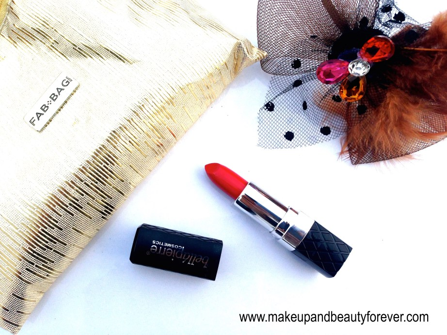 Bellapierre Mineral Lipstick Ruby review