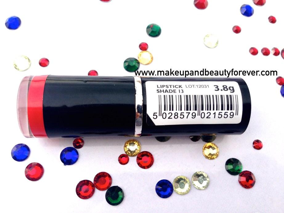 MUA Makeup Academy Lipstick Shade 13 Review 1