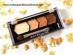 Maybelline Eyestudio Diamond Glow Eye Shadow Quad 01 Copper Brown Review, Swatches, Price and Details