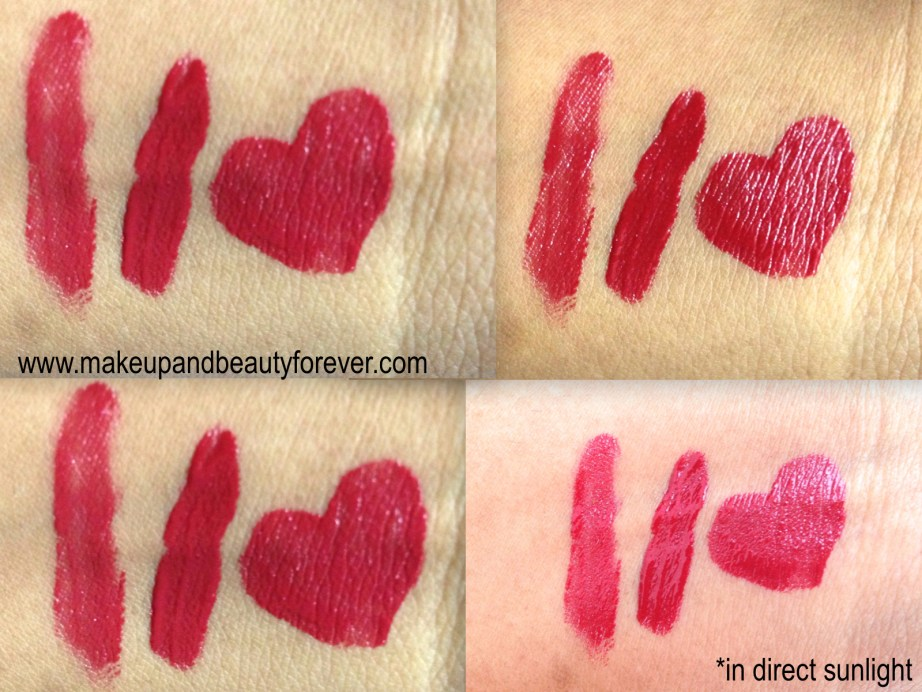 Shiseido Lacquer Rouge Liquid Lipstick Drama RD 501 Review Swatches MBF
