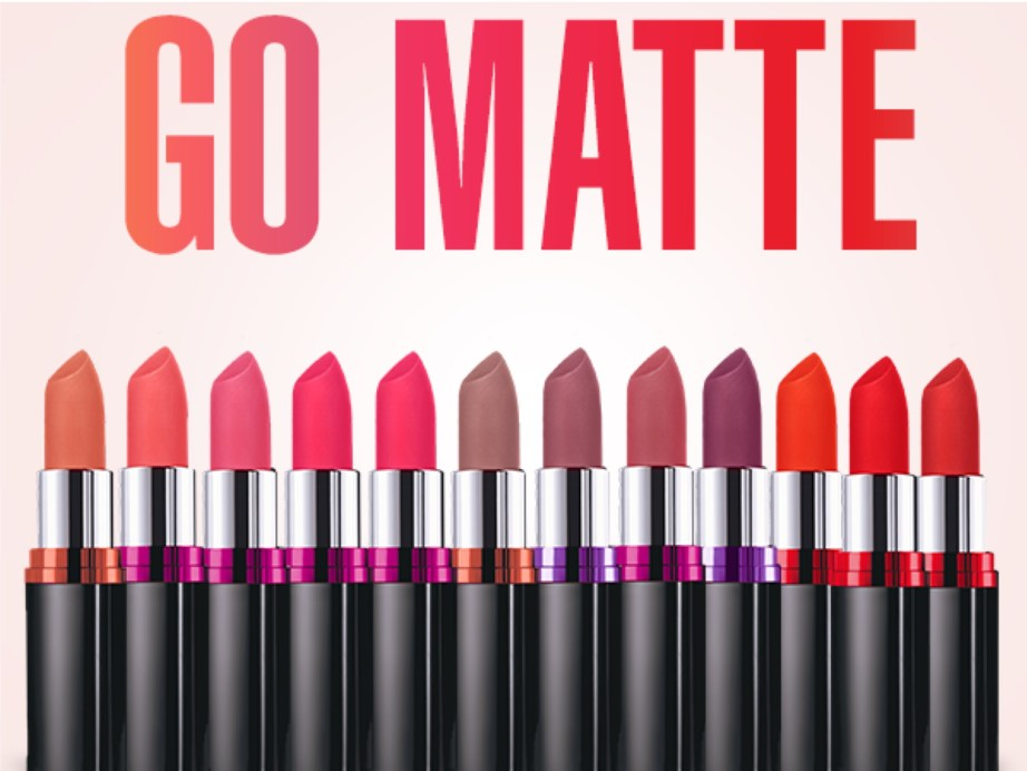 All Maybelline Color Show Matte Lipstick Review Shades Swatches Price Indian Makeup and Beauty Blog