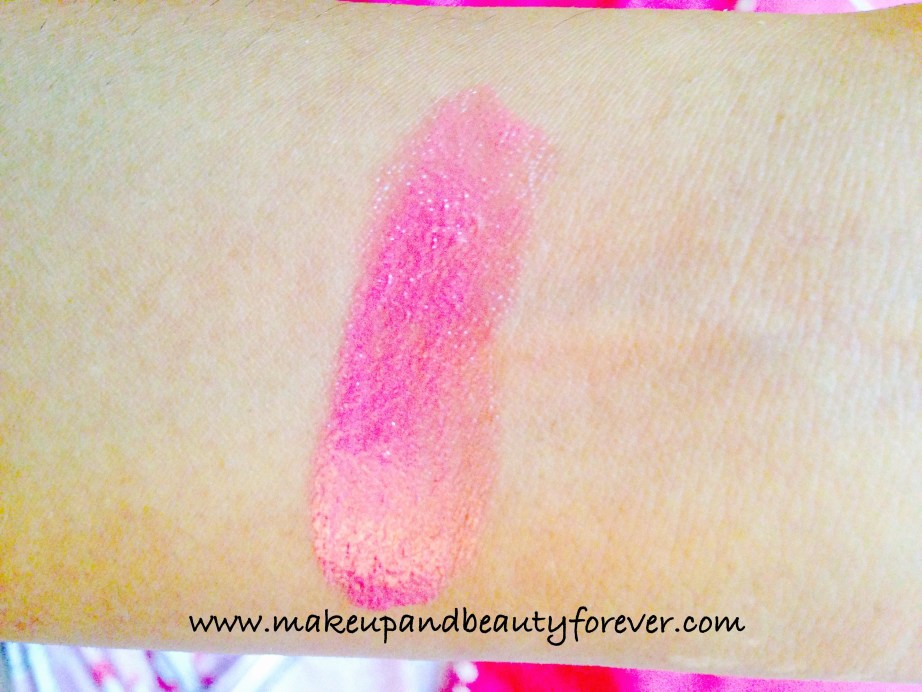 LOreal Paris Colour Riche Nutri Shine Lipstick 102 Shiny Grape fruit Review Swatch