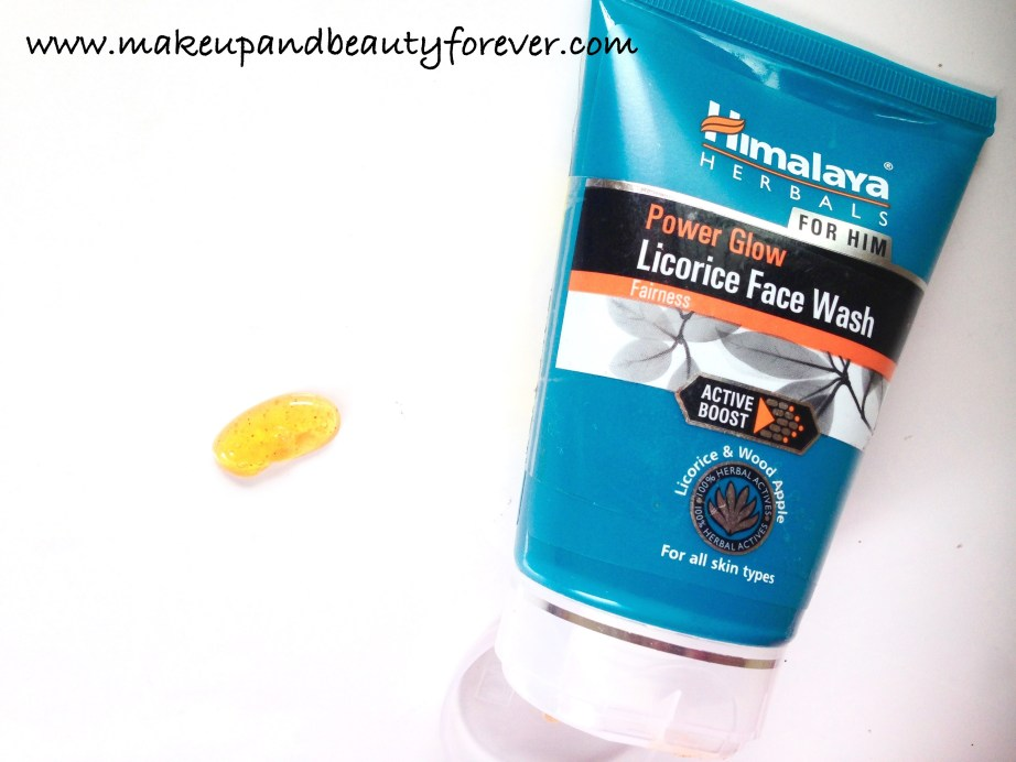 Himalaya Herbals Power Glow Licorice Face Wash Review 5