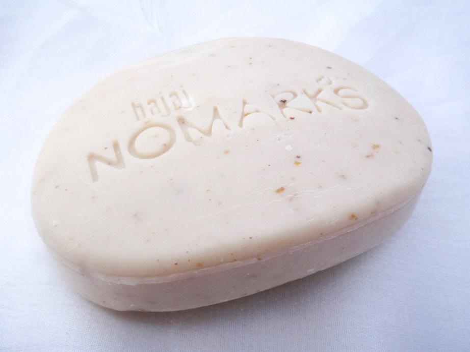 Bajaj NOMARKS Herbal Scrub Soap Review work