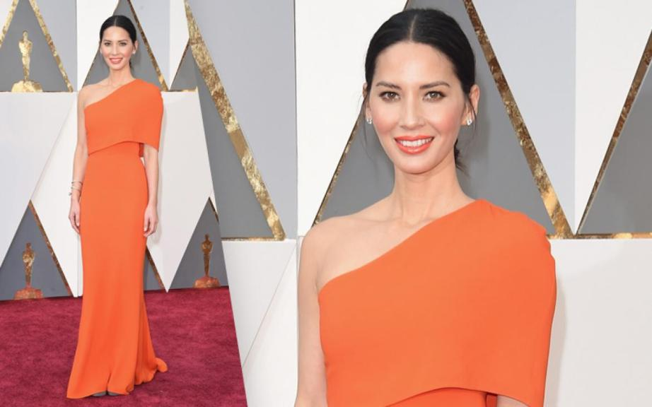Olivia Munn oscars 2016 dress