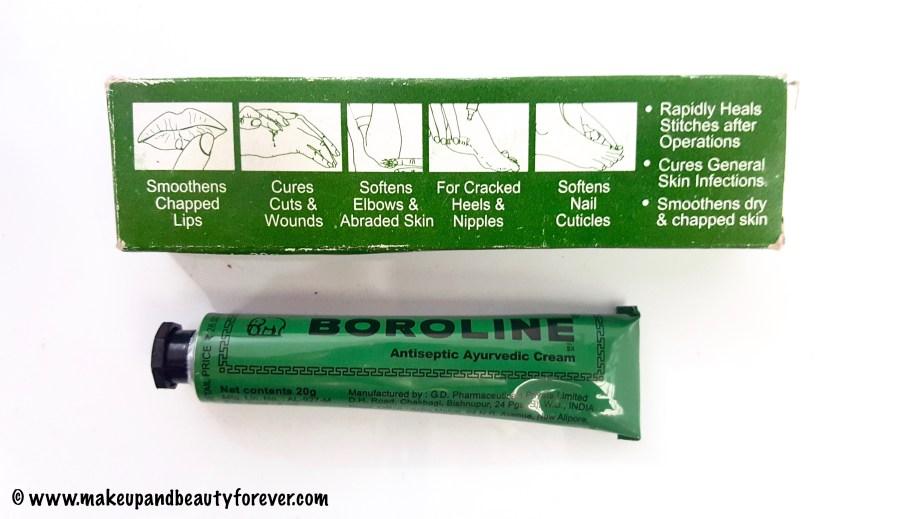 Boroline Antiseptic Ayurvedic Cream Review MBF India
