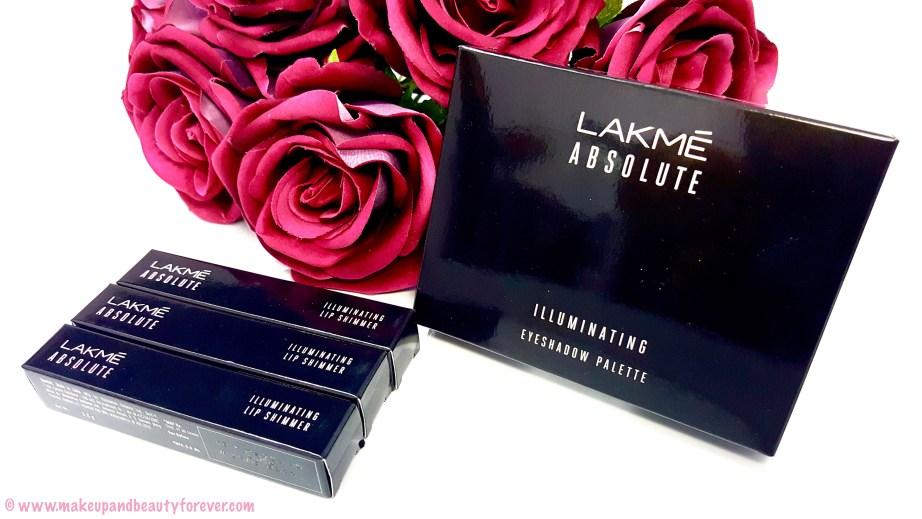 Lakme Absolute Illuminate & Shine Range Featured with Kareena Kapoor at Lakme Fashion Week 2016 All Lakme Absolute Illuminating Lip Shimmer Lipstick Shades