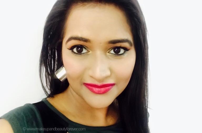 mad magenta pink sugar pout time vivid lipstick Astha mbf
