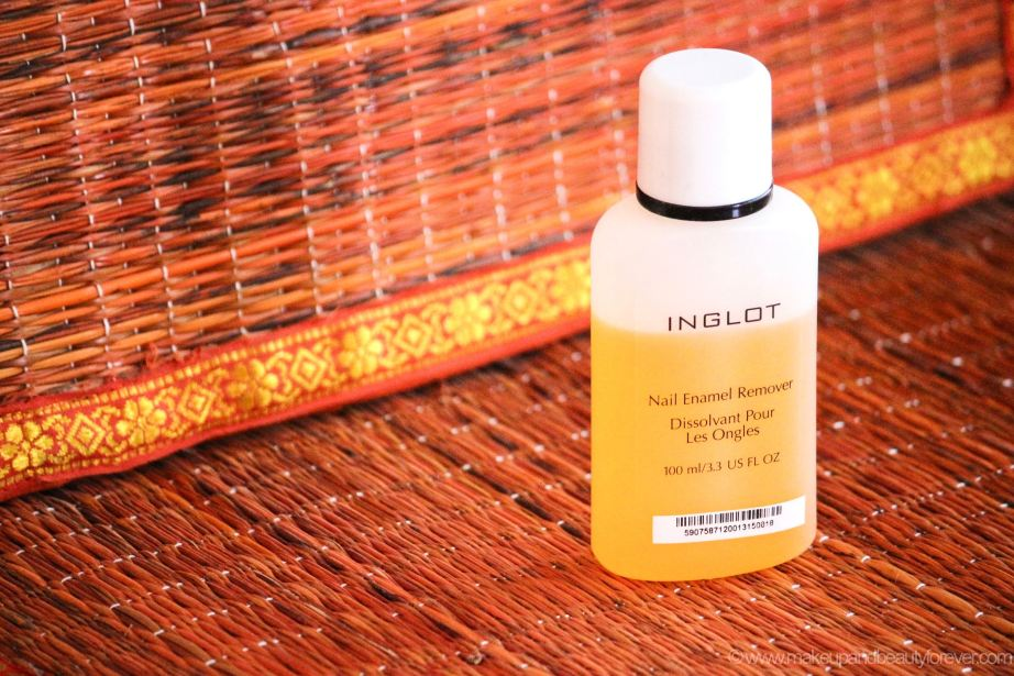 Inglot Nail Enamel Remover Review new