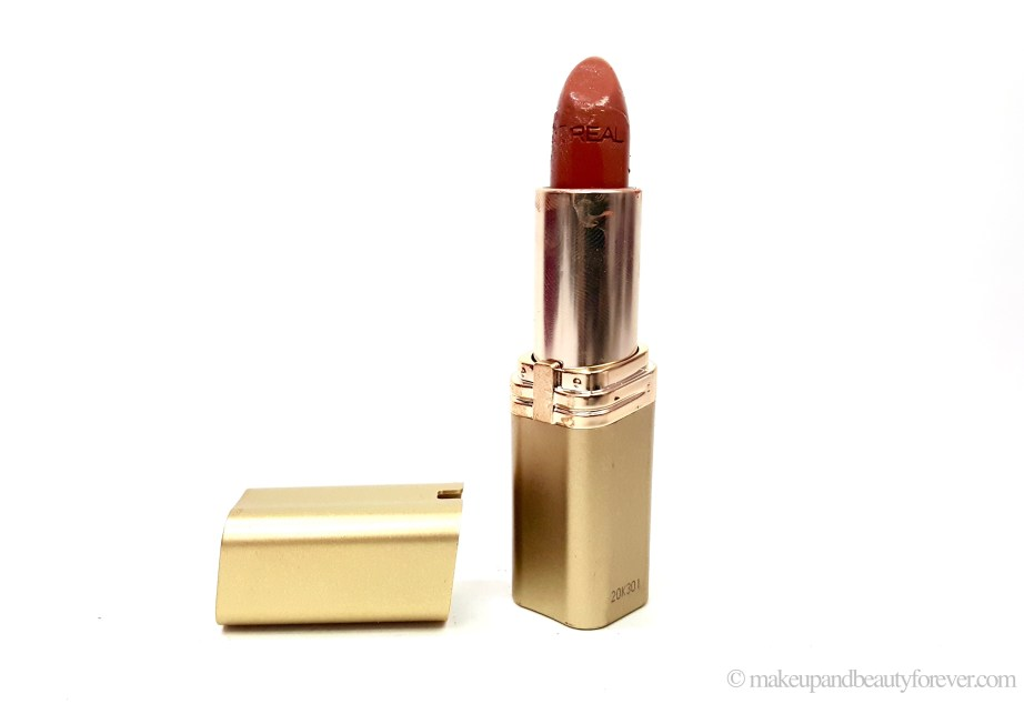 LOreal Color Riche Lipstick 840 Nature's Blush Review Swatches