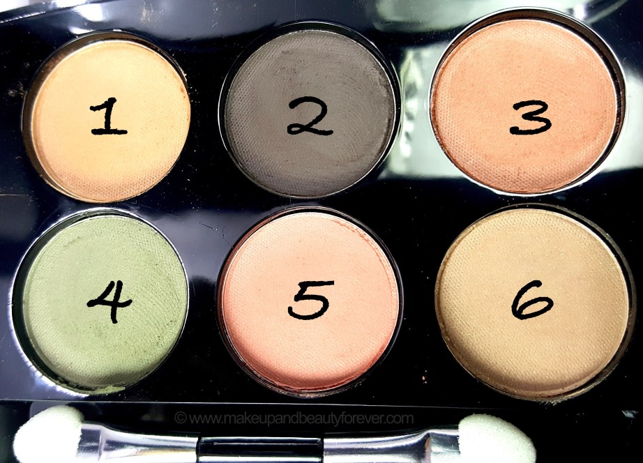 Lakme Absolute Illuminating Eye Shadow Review Shades Swatches MBF