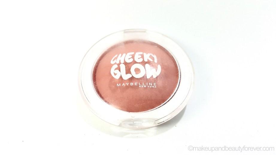 Maybelline Cheeky Glow Blush Creamy Cinnamon Review