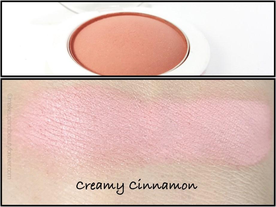 Maybelline Cheeky Glow Blush Creamy Cinnamon Review swatch